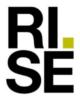 RISE-Instituto de Investigación de Suecia