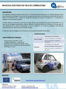 Vehículo eléctrico de pila de combustible